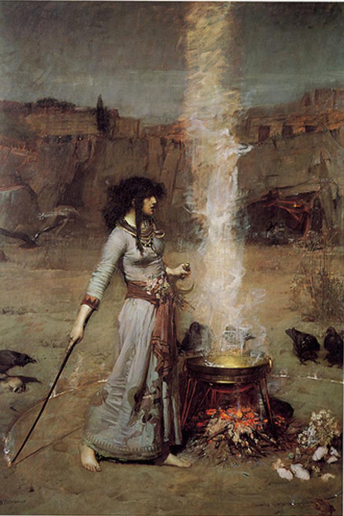 Waterhouse, Magic Circle 1886.jpg