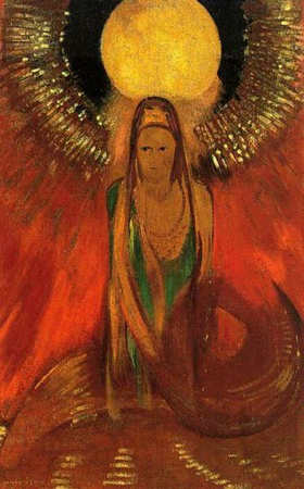 373px-The_Flame_-_Odilon_Redon - 403