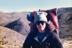 "Yep. That's me. In the high desert of California, circa 1990. This is a contemporized Vision Quest. No need to be rugged or heroic and not necessarily the ""way of the warrior""."