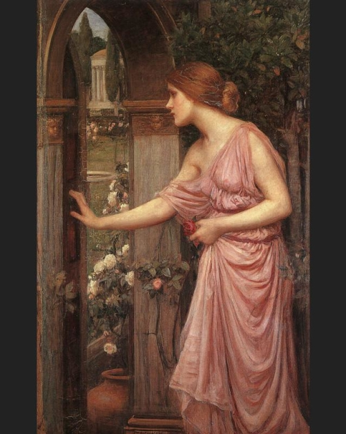 Psyche Entering Cupid's Garden